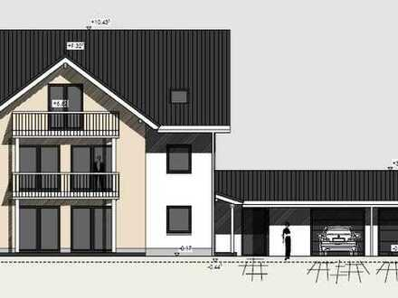 Neubau / Erstbezug Traum Wohnung im 1 OG mit 4 Zimmer 129m² großem Balkon und EBK
