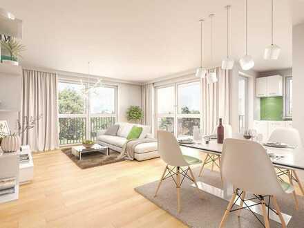 2 Zimmer Neubauwohnung, barrierefrei, ideal für Senioren -mit WBS-