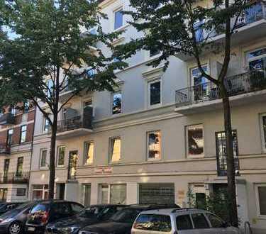 Stilvolle, teilmöblierte 2,5-Zimmer-Wohnung mit EBK in Eimsbüttel, Hamburg