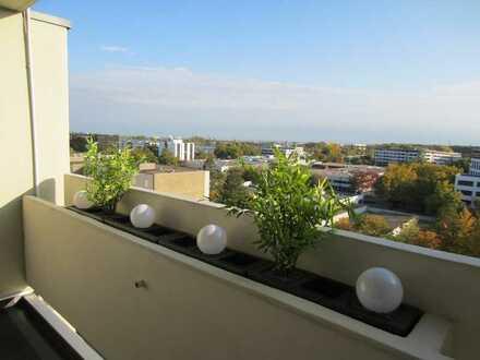 Helle, modernisierte 2-Zimmer-Wohnung mit Balkon und Einbauküche in Regensburg