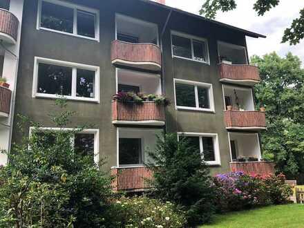 Freundliche 3-Zimmer-Wohnung mit Balkon im Grünen