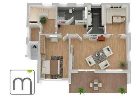 charmante 2,5 Zimmer Erdgeschosswohnung mit Terrasse