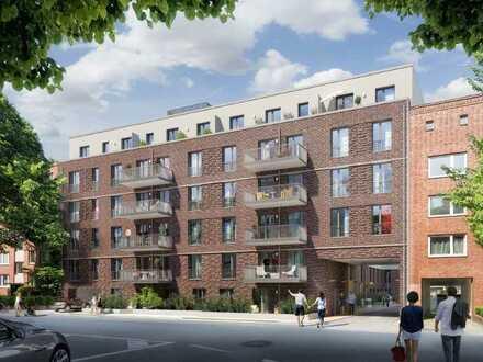 """A.4.66 // 2-Zimmer-Wohnung im Neubauprojekt """"Vogelweide - Herz von Barmbek"""""""