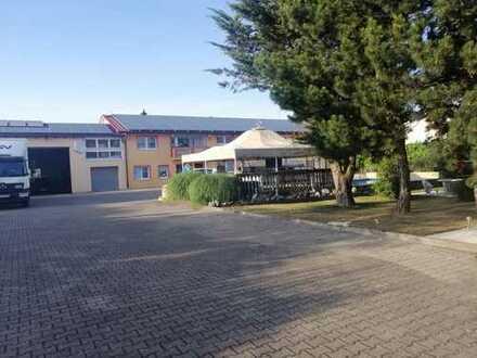 Wohnhaus mit Gewerbeanwesen und Halle auf 2700 qm großem Grundstück