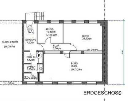 Erdgeschossbüro in Köln - Ehrenfeld