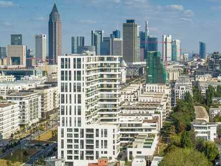 2-Zimmer-Wohnung im Axis Frankfurt mit Concierge-Service