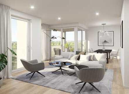 Familienfreundliche 4-Raum-Wohnung mit Blick ins Grüne