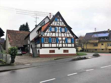 Verfügbar renoviertes Fachwerkhaus 4 Zimmer in 79276 Reute