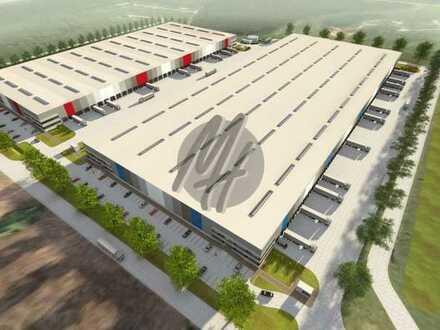 NEUBAU ✓ 24/7-NUTZUNG ✓ Lager-/Logistik (60.000 m²/teilbar) & Büro (6.000 m²/teilbar) zu vermieten