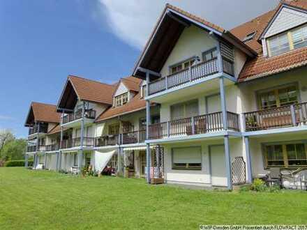 Top ausgestattet! Großes 1-Zi-Appartement im Grünen mit Balkon