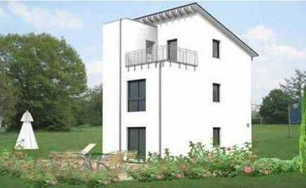 Moderne Doppelhaushälfte im zeitlosen Design