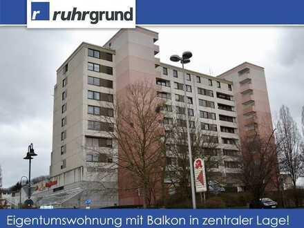 vermietete Eigentumswohnung mit Balkon in zentraler Lage!!!
