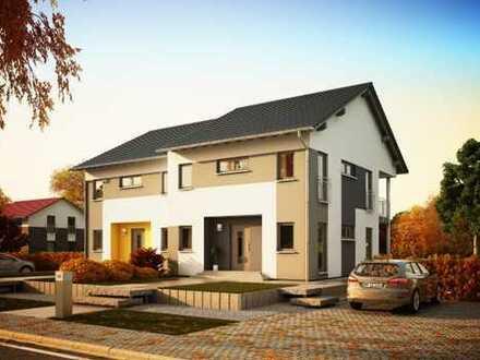 Doppelhaushälfte mit Grundstück