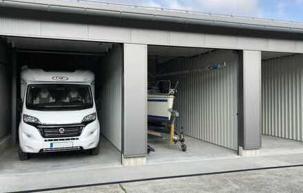 Garage für Wohnmobil, Wohnwagen, Oldtimer, Boot u.ä.