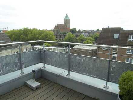 Provisionsfrei! Exklusive Penthousewohnung im Zentrum von Rheine zu verkaufen