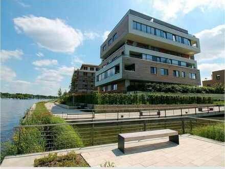 Leben am Wasser! Sonnige Eigentumswohnung direkt am Ufer der Dahme