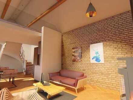 Provisionsfrei | Haus 4 + 5 | Wohnung 3 | 2 Zimmer mit offener Galerie | Erdgeschoss + Obergeschoss