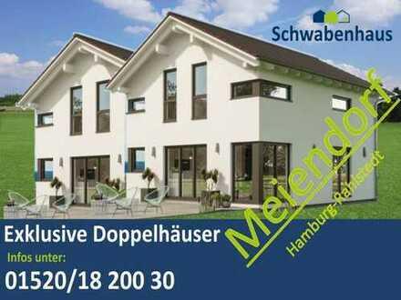 1A Kapitalanlage im Hamburg, Neubau, Moderne und großzügige Doppelhaushälfte