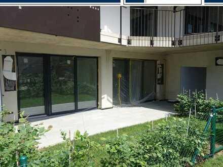 Neubau, exklusive Gartenwohnung mit 2 Tiefgaragenplätzen