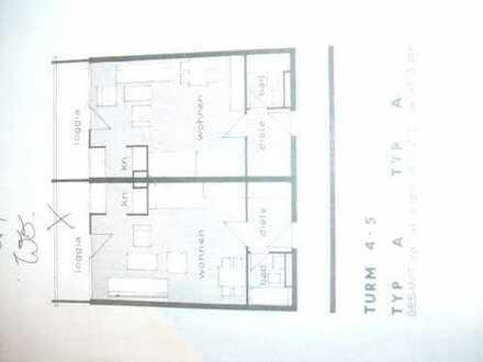 Stilvolle, geräumige 1-Zimmer-Wohnung mit Balkon in Frankfurt am Main