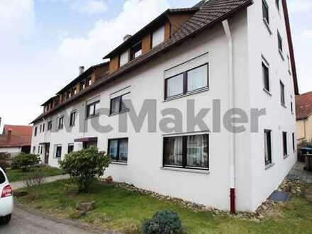 Ansprechende Kapitalanlage: Gepflegte 4-Zimmer-Wohnung mit Balkon und Garagenplatz