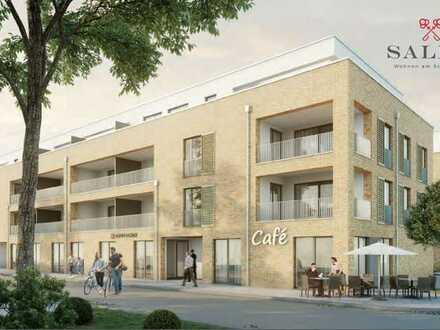 Neubau: 4-Zimmer-Wohnung mit Einbauküche und großem Balkon in Salem am Schlosssee