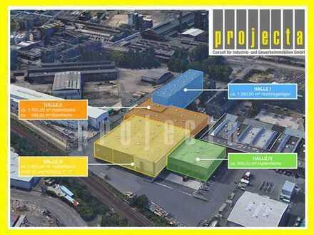 6.850 m² Halle*WGK III*9 Rolltore*5m-15m UKB*Sprinkleranlage*