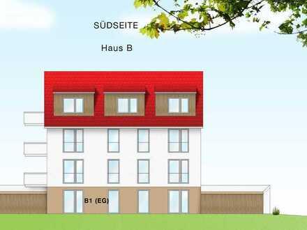 Großzügige, familienfreundliche 5 1/2 Zimmer ETW (B1) im EG mit West-Terrasse und Gartenanteil