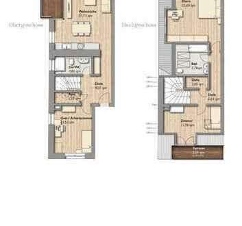 -Neubau- Großzügige Maisonette Wohnung