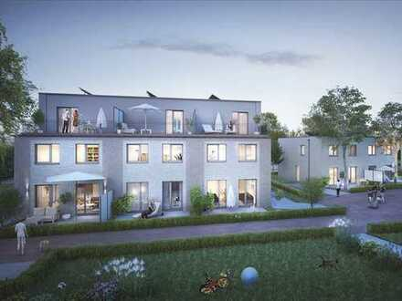 Tolles Reihenmittelhaus mit Garten- und Dachterrasse in bester Lage Billstedts