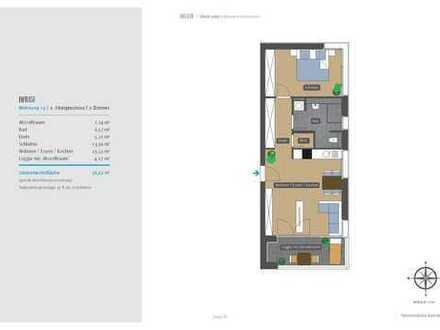 Haus F – stilvoll Leben in Winnenden-Schelmenholz, Wohnung 13 / 2. OG