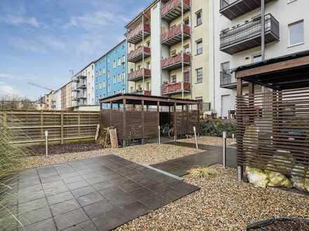Moderne Maisonette-Wohnung! Zwei Terrassen! ein Balkon! Einbauküche!