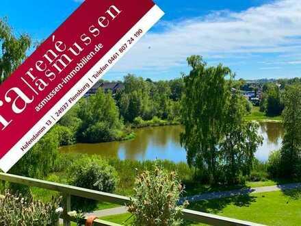 ASMUSSEN IMMOBILIEN - Schöne Wohnung mit Weitblick in Flensburg Weiche