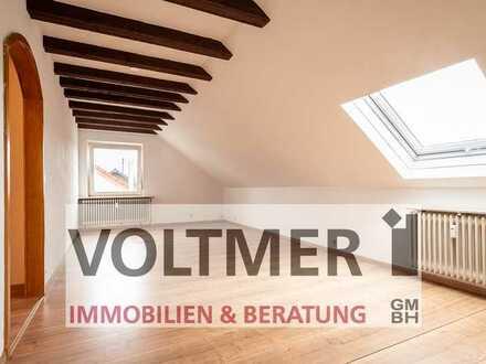 WOHLBEHAGEN - helle Dachgeschosswohnung in Ottweiler!
