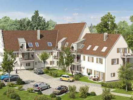 Helle, offen geschnittene 3 Zimmerwohnung mit Balkon in TOP Innenstadtlage von Dillingen