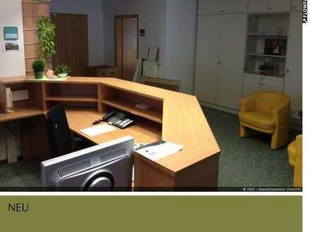 Voll möblierte Büro- oder Praxiseinheit in Chemnitz auch Umbau zur Wohnung möglich!!!