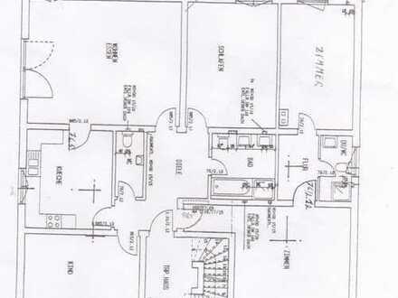 Renovirte 5-Zim. Wohnung, mit Küche, (Einbauk.) und Balkon, Hochpat.