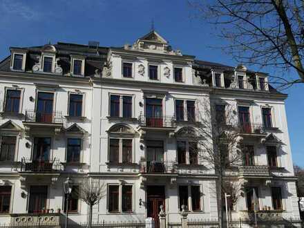 UNI-Klinik Nähe - schöne 3-Zimmer-Wohnung mit zwei Balkonen in Striesen - 2.Obergeschoss