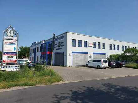 Produktions-, Werkstatt-, Lager- und Büroflächen in guter Gewerbelage