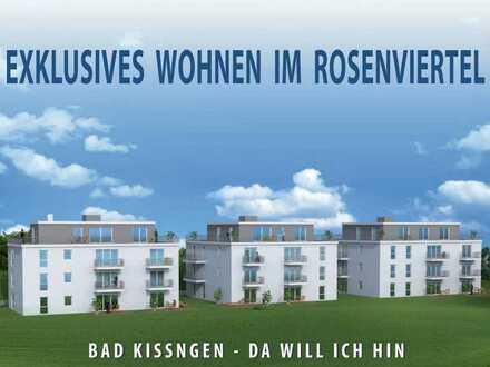 Exklusive 4-Zimmer-Terrassenwohnung im Rosenviertel - ERSTBEZUG