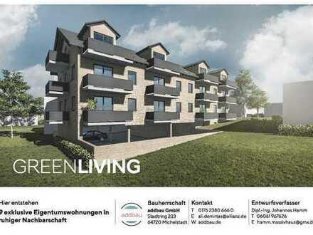 Neun exclusive barrierefreie Eigentumswohnungen