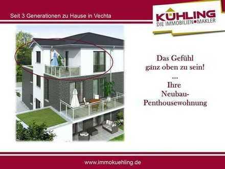 VORankündigung- Attraktive Penthousewohnung - Neubau - Visbek zentral !