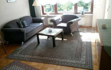 Möblierte 2 Zimmer Terrassen-Wohnung, für Berufspendler / Wochenendheimfahrer, in Bruchköbel
