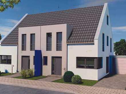 moderne Doppelhaushälfte, Neubau in Du-Süd