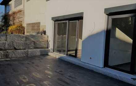 3 Zimmer-Neubauwohnung-Erdgeschoss, mit moderner EBK,großer Terrasse und Garten