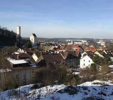 Baugrundstück in Ravensburg-Stadt ! Tolle Aussicht über die Dächer und die Türme von Ravensburg