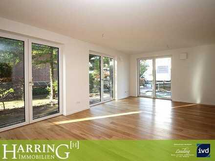 Ruhig und zentral! Hochwertige 2-Zimmer-Wohnung mit Terrasse und Gartenanteil
