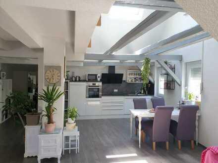 Neuwertige 3,5-Zimmer-Maisonette-Loft-Wohnung in zentraler Lage von Horb am Neckar