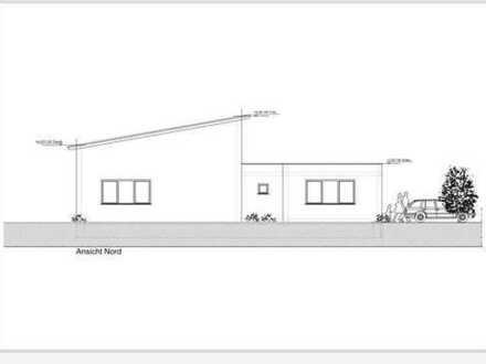 Büro mit Lagerhalle und Lagerfläche in Außenbereich