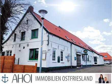 NEUER PREIS! Modernisiertes Baudenkmal! Restaurant/Café mit Fremdenzimmern in Manslagt!